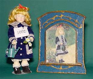 Effanbee Hard Plastic Limited Edition Renoir Doll
