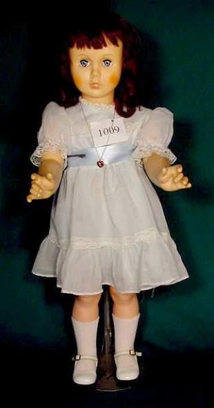 Unmarked Vinyl & Hard Plastic Doll NR