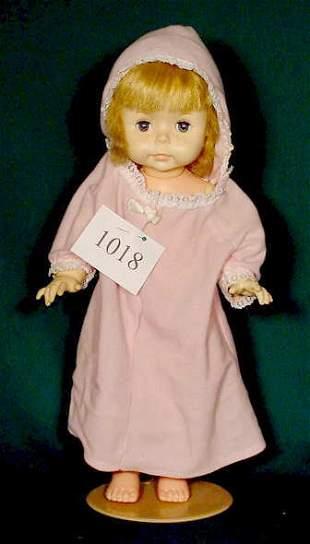 Effanbee Hard Plastic & Vinyl Doll NR