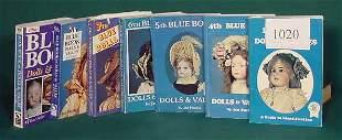 7 Blue Books: Vol. 3 thru 10 Ed. (Dolls) NR