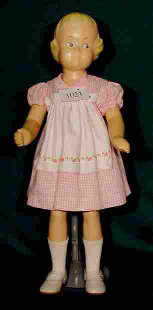 All Hard Plastic Buster Brown Mannequin Doll NR
