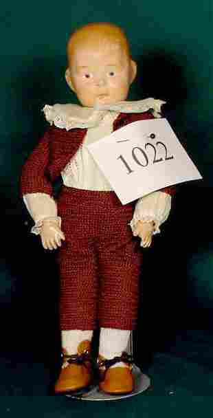 Compo Character Doll with Partial Label NR