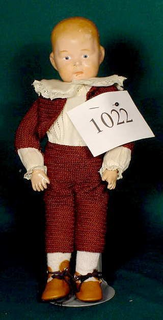 1022: Compo Character Doll with Partial Label NR