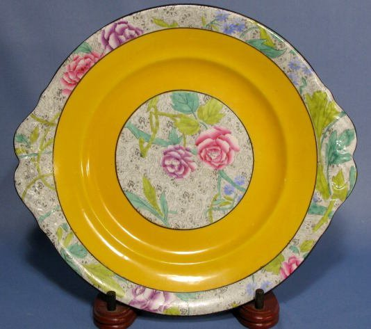 1020: Group of 5 Decorated Plates - 9