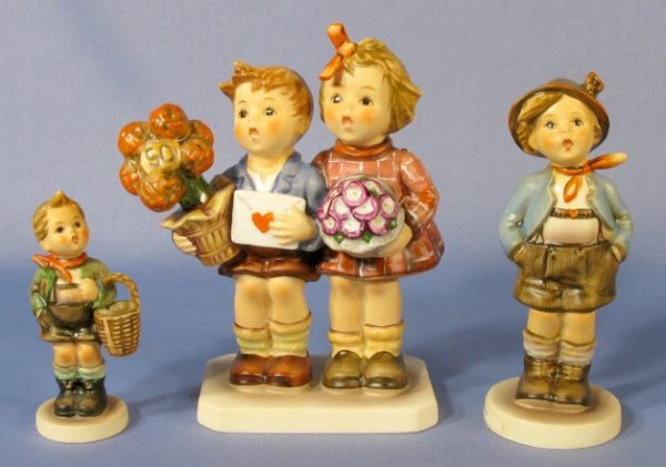 1073: Group of 3 Hummel Figurines