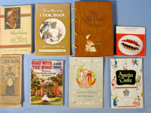 1: Group of 8 Different Advertising Cook Books