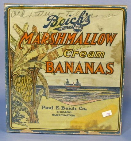 3: Beich's Marshmallow Cream Bananas Box