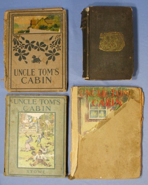 "16: Group of 4 ""Uncle Tom Cabin"" Books"