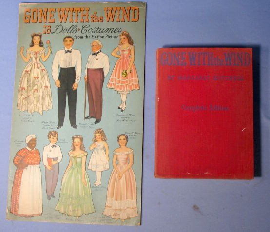18: Group of Gone with the Wind Collectible Items
