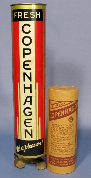 19: Copenhagen Metal Hanging Snuff Dispenser