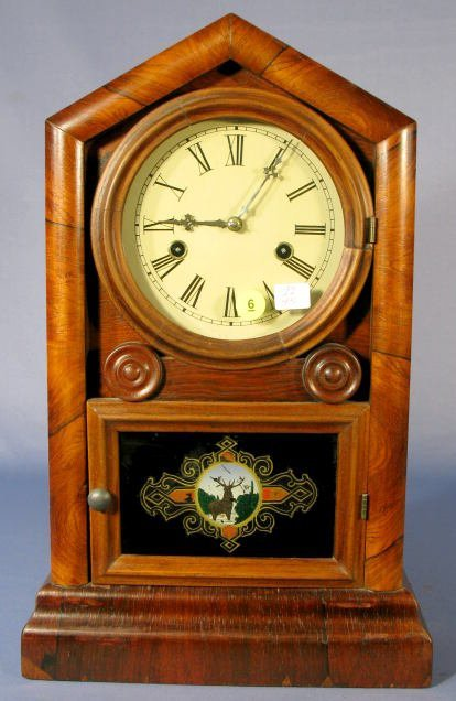 "6: Gilbert ""Cottage"" 30 Hour Mantle Clock"