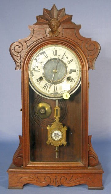 "8: New Haven ""Rhine"" Mantle Clock"