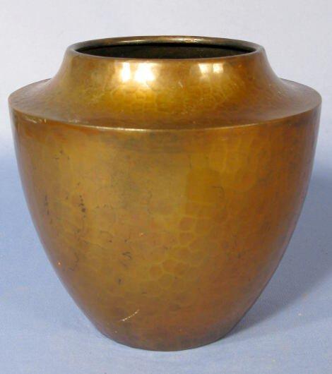 5: Roycroft Hammered Copper Vase