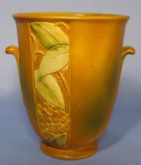 """13: Weller Pottery """"Velva"""" Vase"""