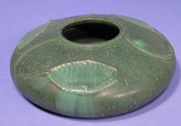 17: Ephraim Faience Pottery Planter