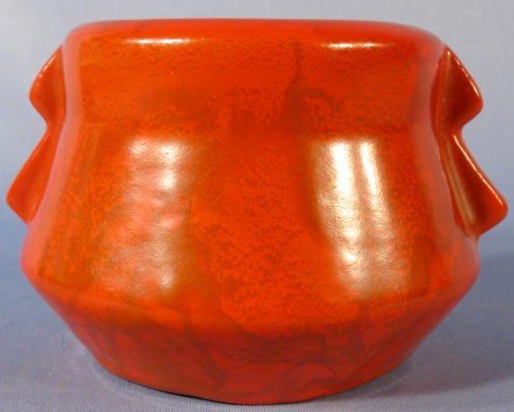 21: Weller Pottery Blo' Red Vase