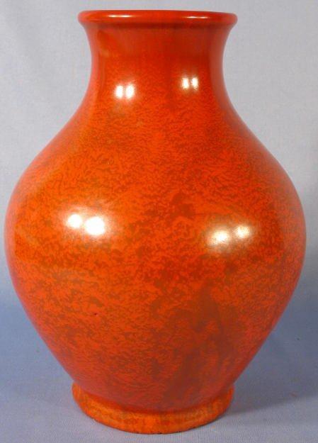 22: Weller Pottery Blo' Red Ware Vase