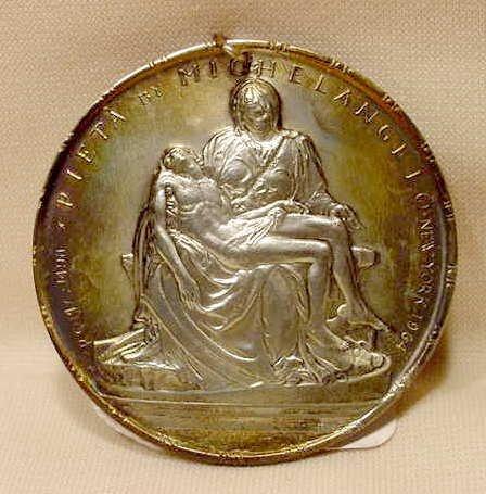 2003: Towle Boxed Sterling Medallic Art Pieta NR