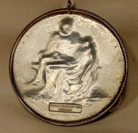 2003: Towle Boxed Sterling Medallic Art Pieta NR - 2
