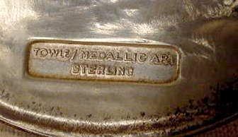 2003: Towle Boxed Sterling Medallic Art Pieta NR - 4