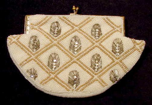 2006: Julius Garfinckel & Co Rhinestone Clasp Handbag