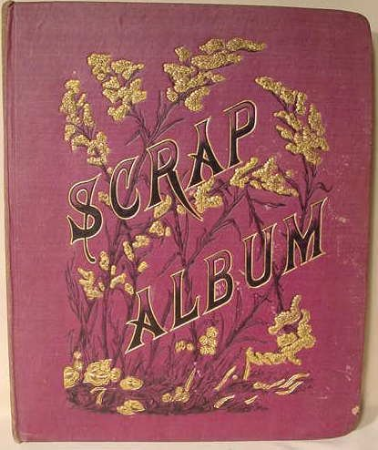 2023: Victorian Scrapbook Advertising Trade Cards NR