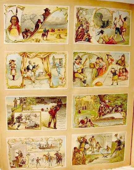 2023: Victorian Scrapbook Advertising Trade Cards NR - 5