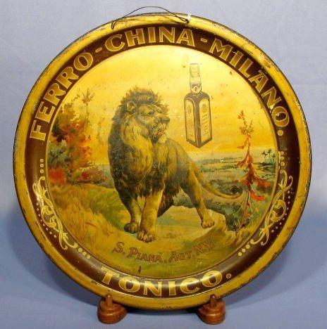 17: Tin Ferro-China-Milano-Tonico Serving Tray
