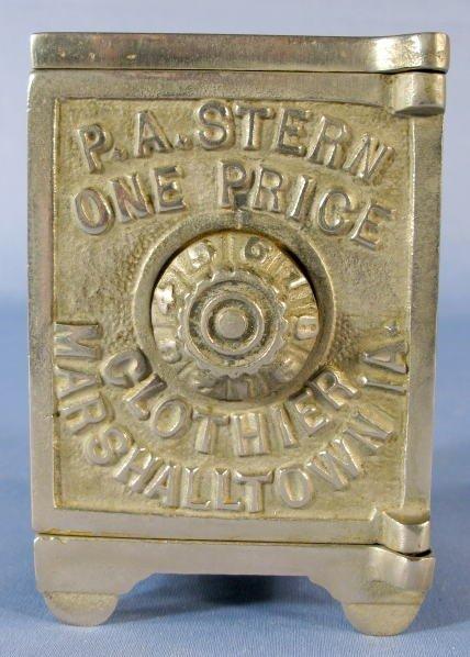 385: Cast Iron P.A. Stern Clothier, Marshalltown Bank