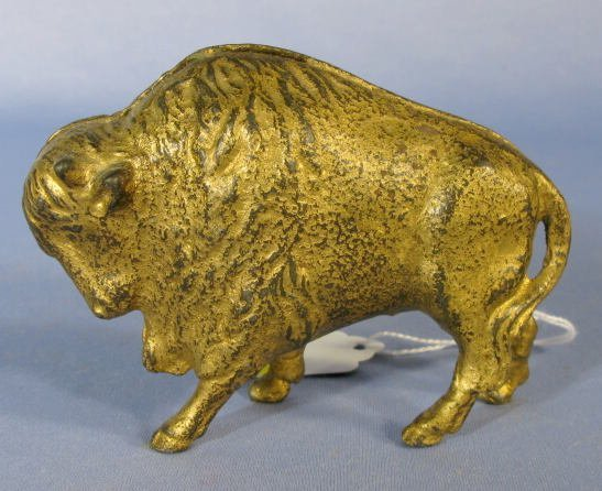 17: A.C. Williams Buffalo Cast Iron Penny Bank