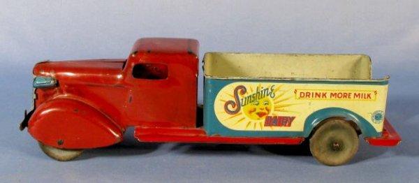 47: Wyandotte Sunshine Dairy Toy Truck