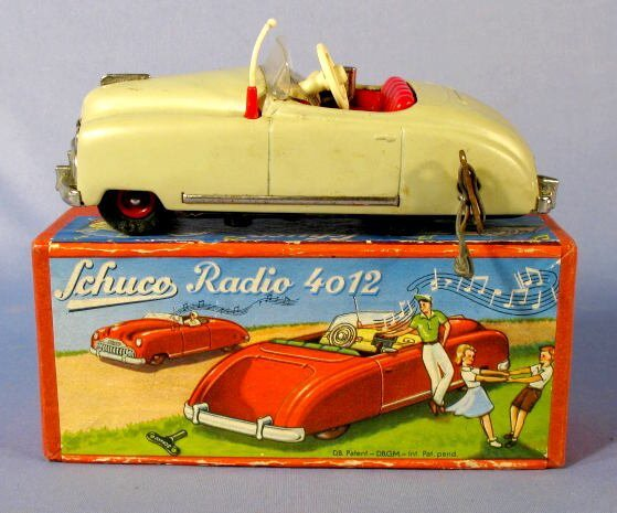 137: Schuco Radio 4012 Toy in Original Box