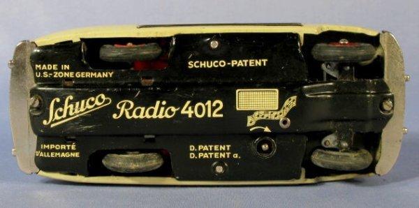 137: Schuco Radio 4012 Toy in Original Box - 5