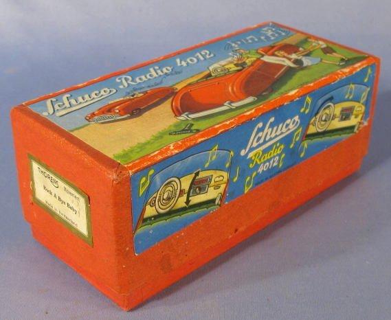 137: Schuco Radio 4012 Toy in Original Box - 6