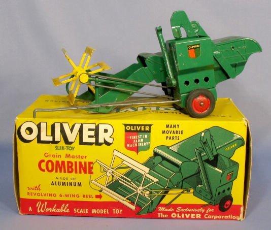 198: Slik Toys Oliver Grain Master Toy Combine