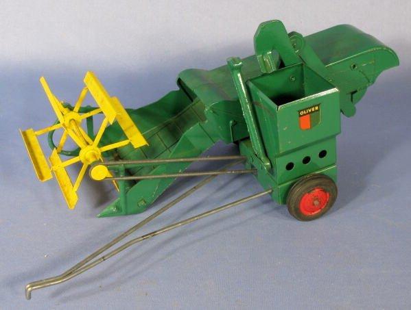 198: Slik Toys Oliver Grain Master Toy Combine - 2