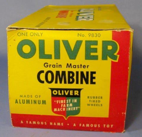 198: Slik Toys Oliver Grain Master Toy Combine - 5