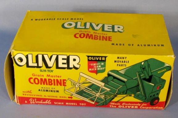 198: Slik Toys Oliver Grain Master Toy Combine - 6