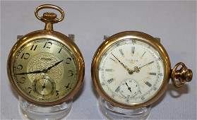 2 Elgin OF Pocket Watches