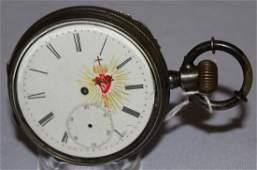 Antique Swiss Spiral Breguet OF Pocket Watch
