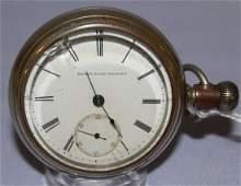 "Antique Elgin ""G.M Wheeler"" 18s OF Pocket Watch"