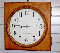 Antique Seth Thomas Slave Wall Clock
