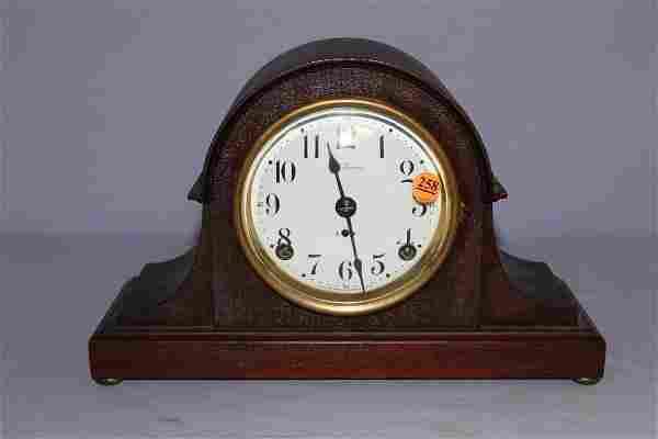 Antique Seth Thomas Tambour Mantle Clock
