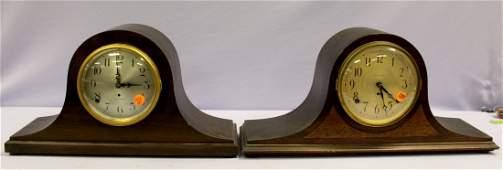 2 Seth Thomas Tambour Mantle Clocks