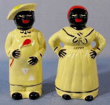 3: Pair of Black Cook Shakers