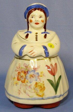 9: Shawnee Dutch Girl Jill Cookie Jar