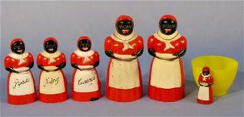 345: Group of 6 F&F Co. Aunt Jemima Items