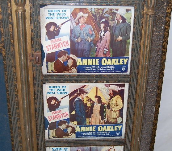114A: Movie Theatre Poster Display Board : Lot 114A