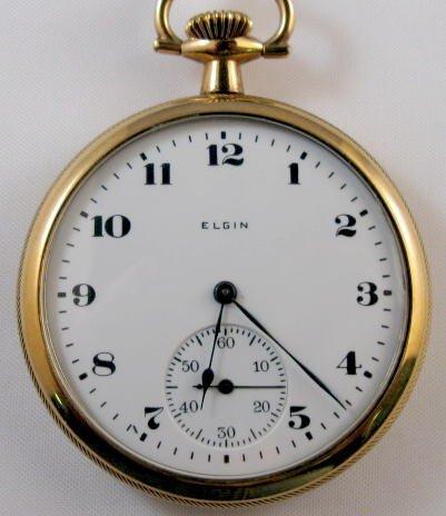 4: Elgin 15J 12S Pocket Watch