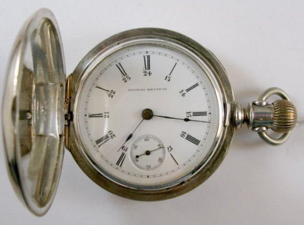 5: Illinois 15J 18S Open Face Coin Pocket Watch